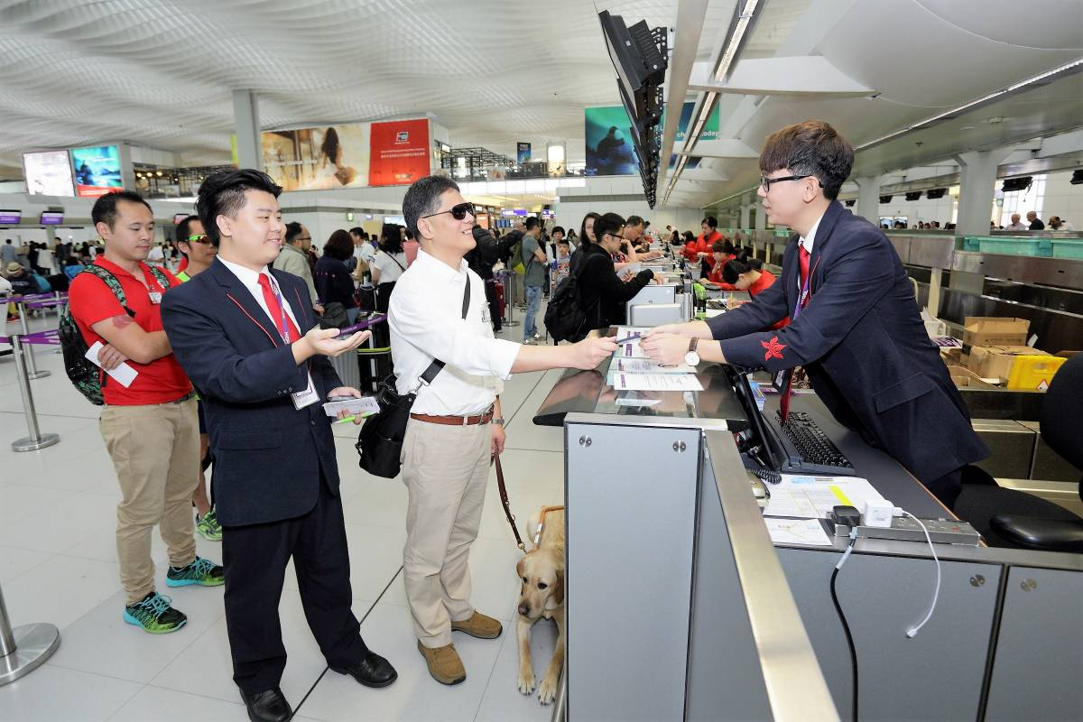HK Express Honours International Guide Dog Day in Support of Flight Accessibility