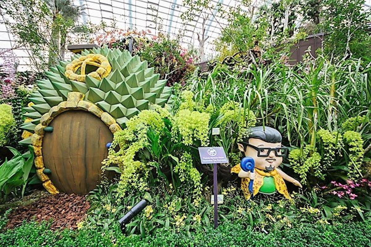 NEW DISPLAYS AT SINGAPORE GARDEN FESTIVAL 2018 TO WOW VISITORS