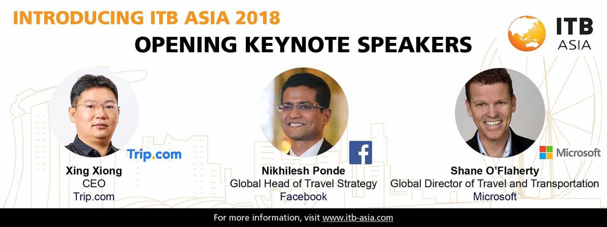 Disruption and Innovation Set to be the Focus of ITB Asia 2018