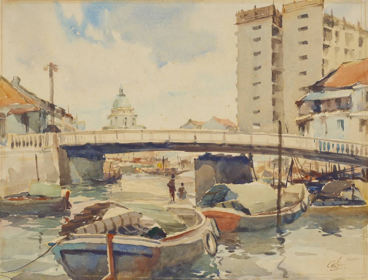 An ode to Singapore through the eyes of plein-air artist Lim Cheng Hoe at National Gallery Singapore