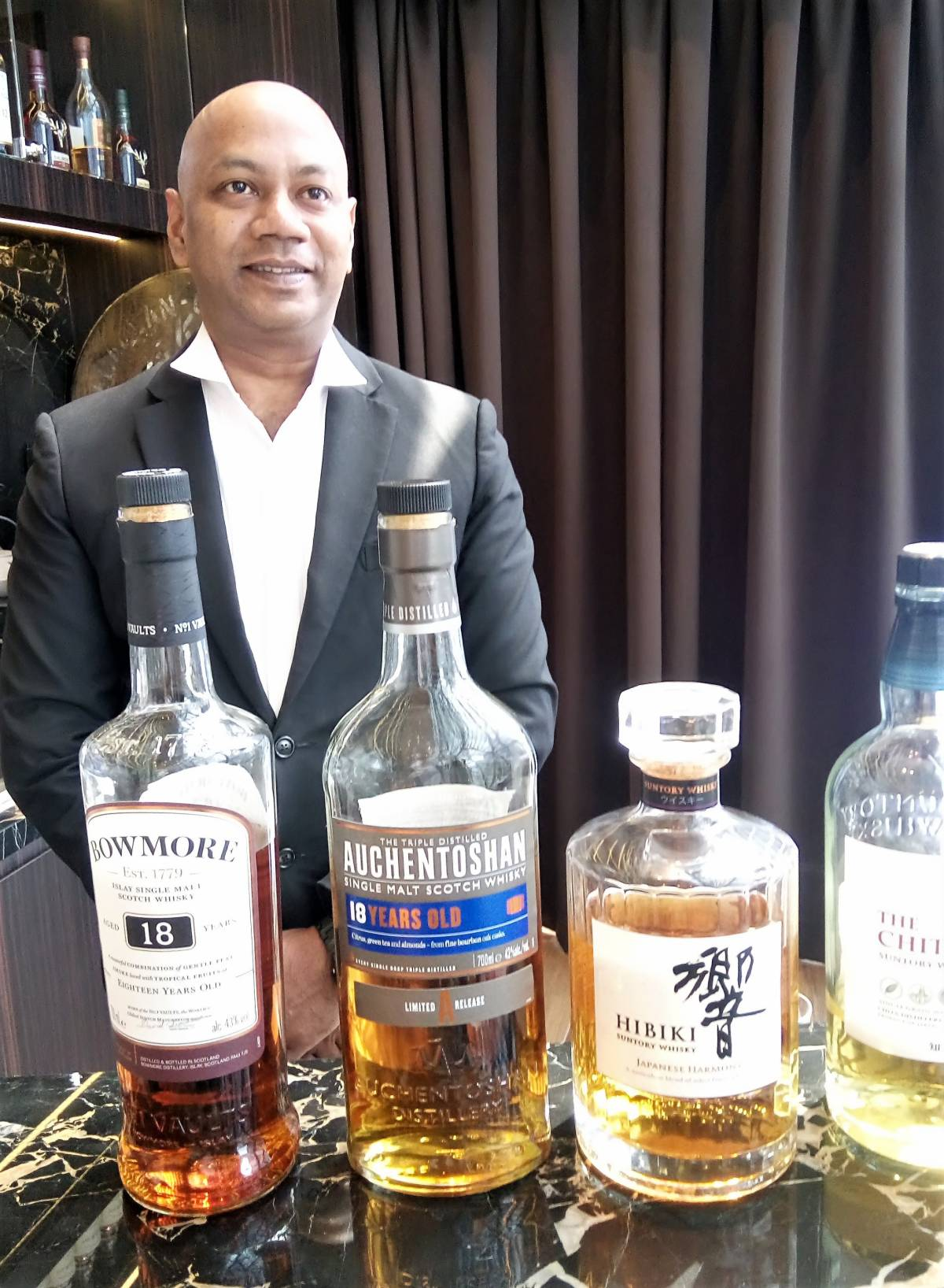 Grand Whisky Collection has 4,500 Whisky