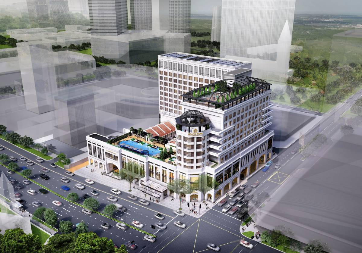 Grand Park City Hall's Transformation Ensures Sustainable Growth