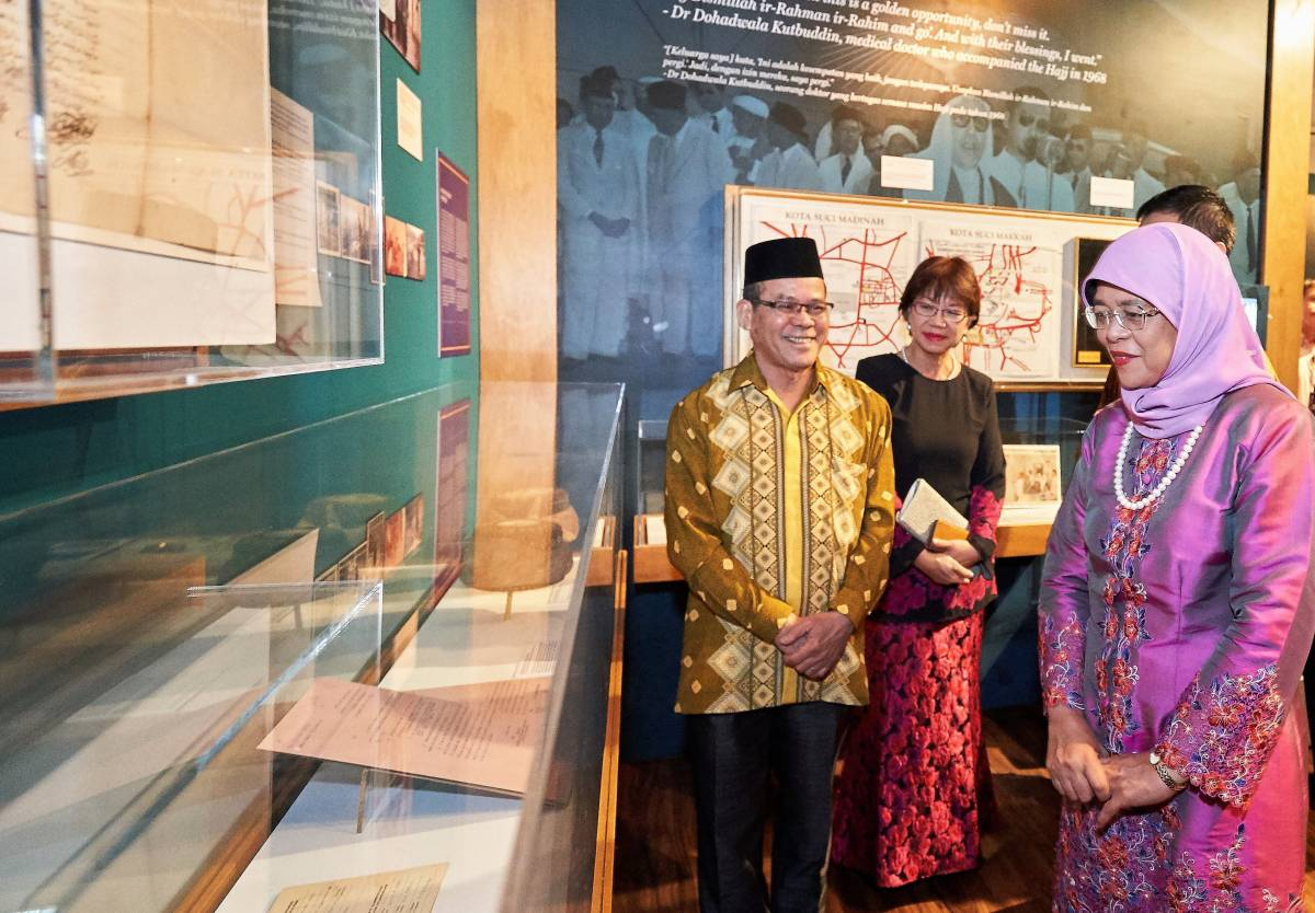 THE JOURNEY OF FAITH  Trace the footsteps of Hajj pilgrims through Malay Heritage Centre's special exhibition and Malay CultureFest