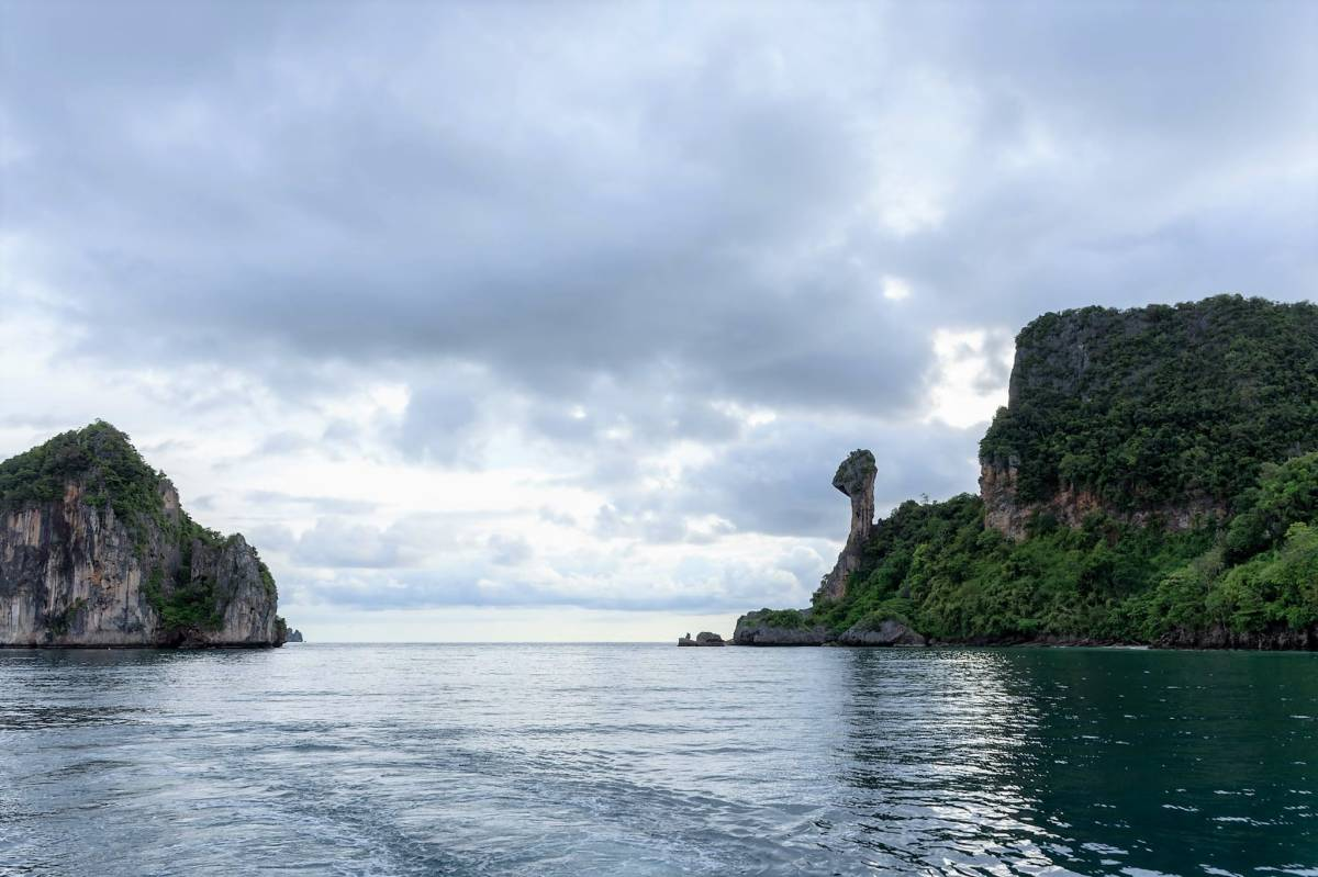 Maya Beach is Closed, but Stunning Views of the Bay can Still be Enjoyed
