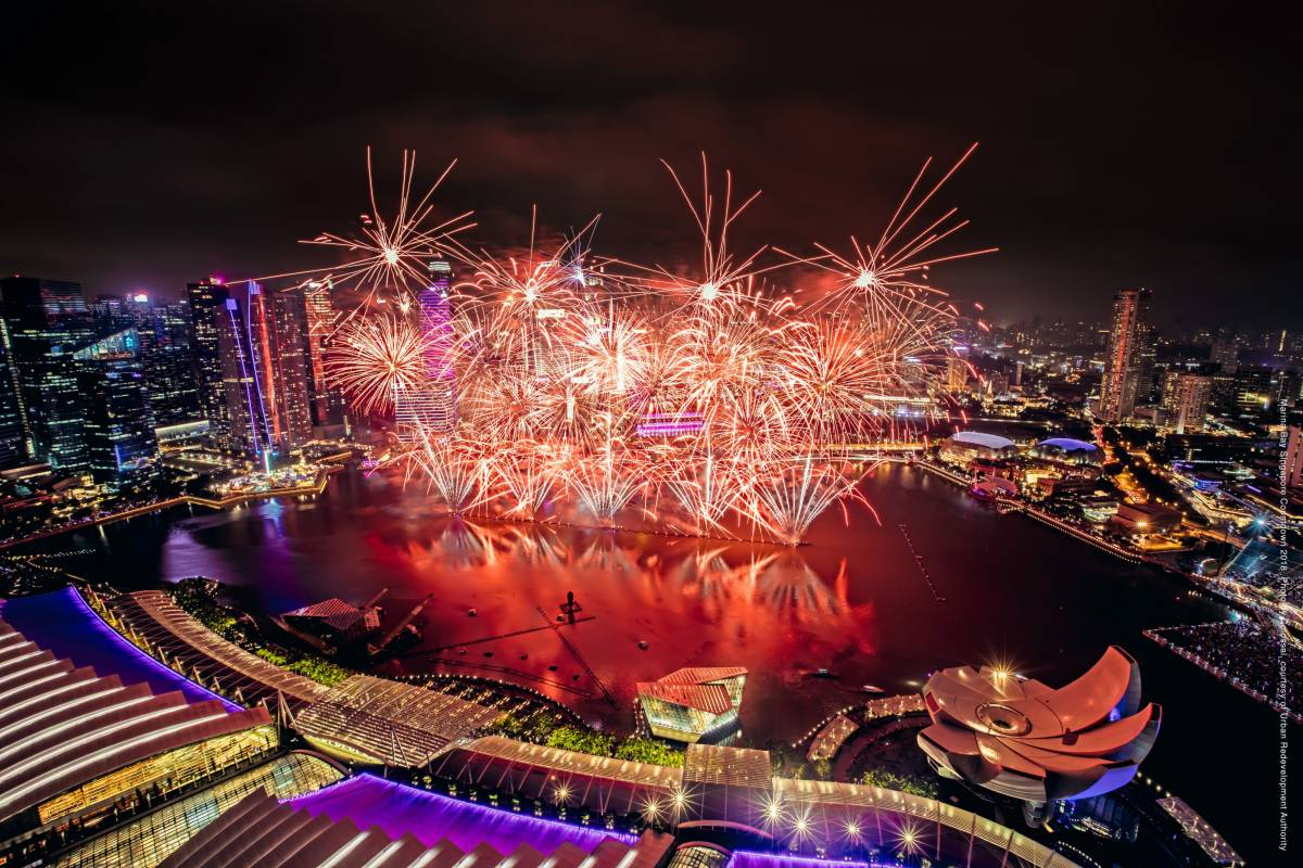 Celebrate in the City with Year-end Activities Around Marina Bay