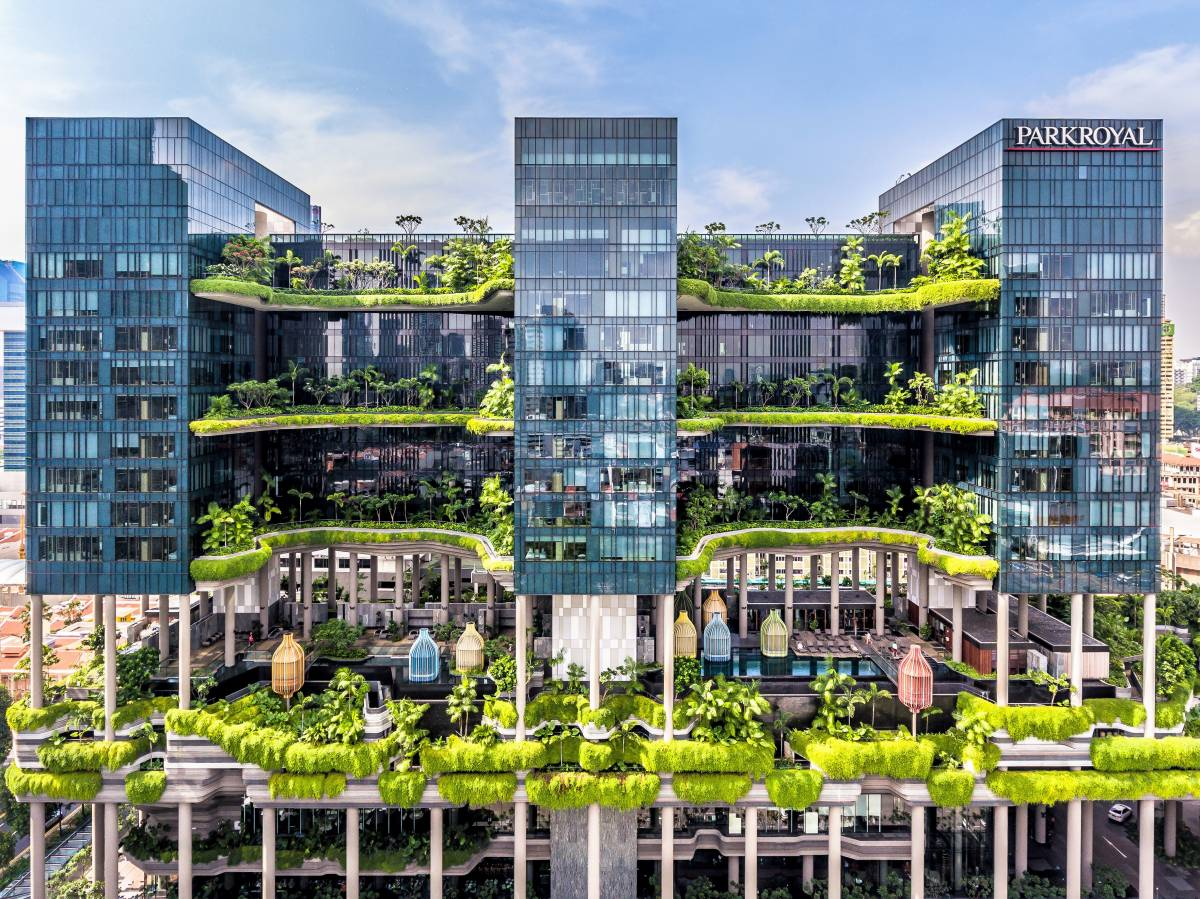 PARKROYAL on Pickering crowned World's Leading Green City Hotel