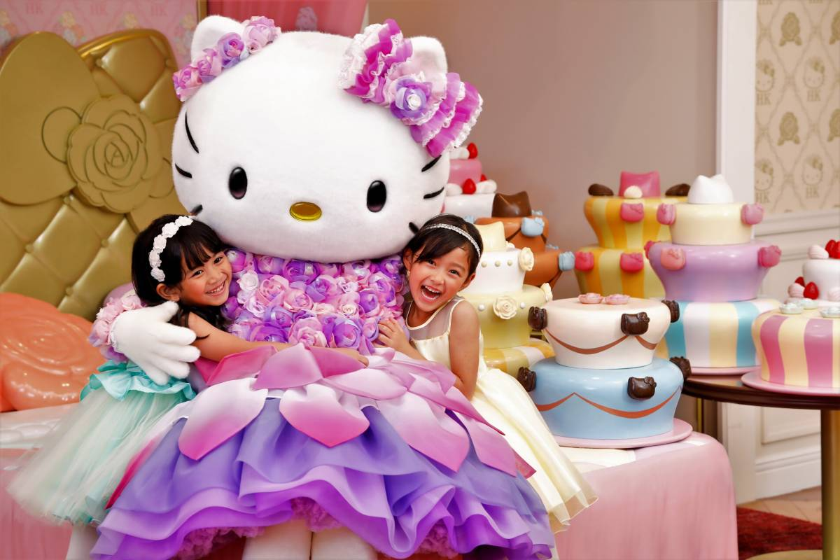 Hello Kitty Celebrates Her 45th Anniversary Launching a Year of Special Anniversary Activities at Hello Kitty Land Tokyo
