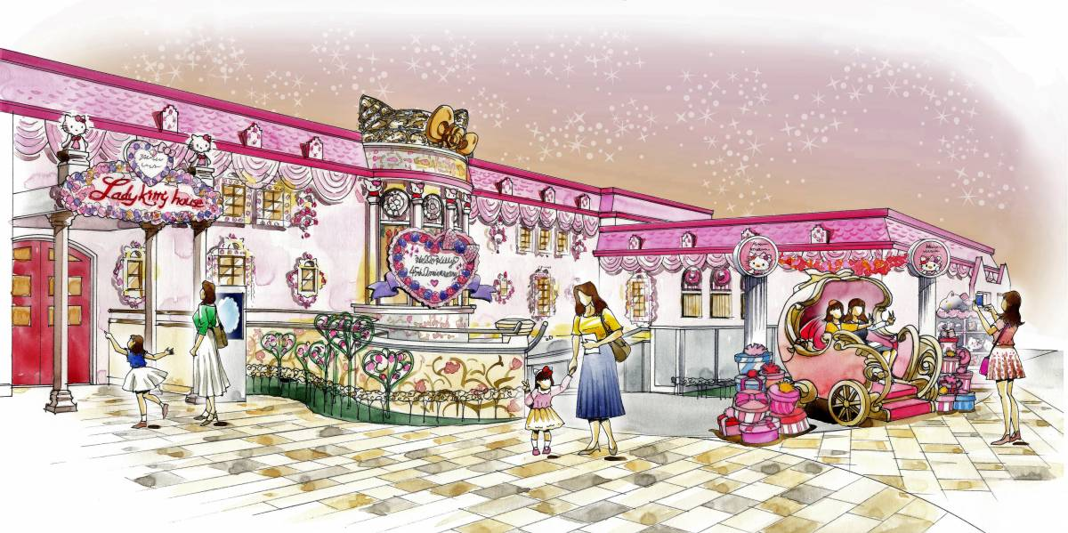 Hello Kitty Celebrates Her 45th Anniversary Launching A Year Of