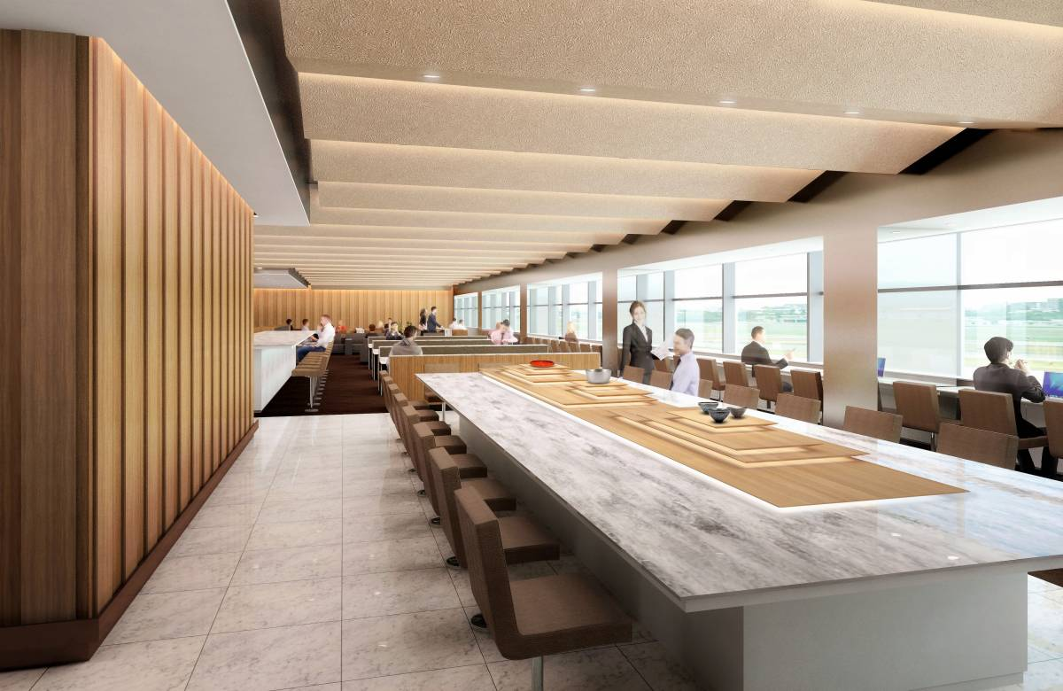 ANA Announces Opening Dates for its Revamped Lounges in Japan