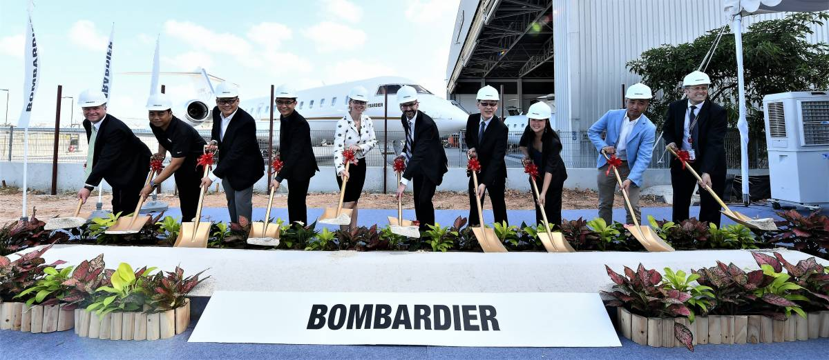 Bombardier to Significantly Bolster its Customer Service Capabilities in the Asia-Pacific Region Through Extensive Singapore Service Centre Expansion