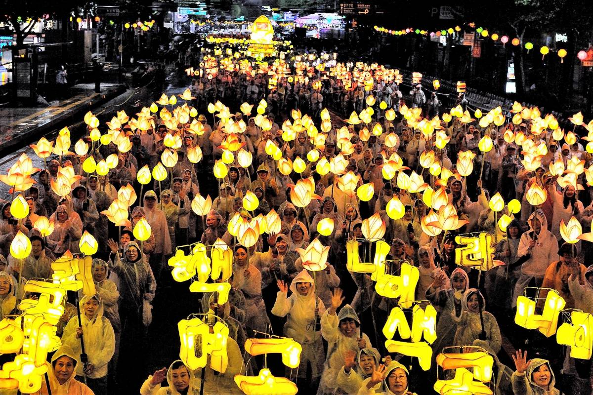 Enjoy Korea's Tradition and Excitement at the 2019 Lotus Lantern Festival