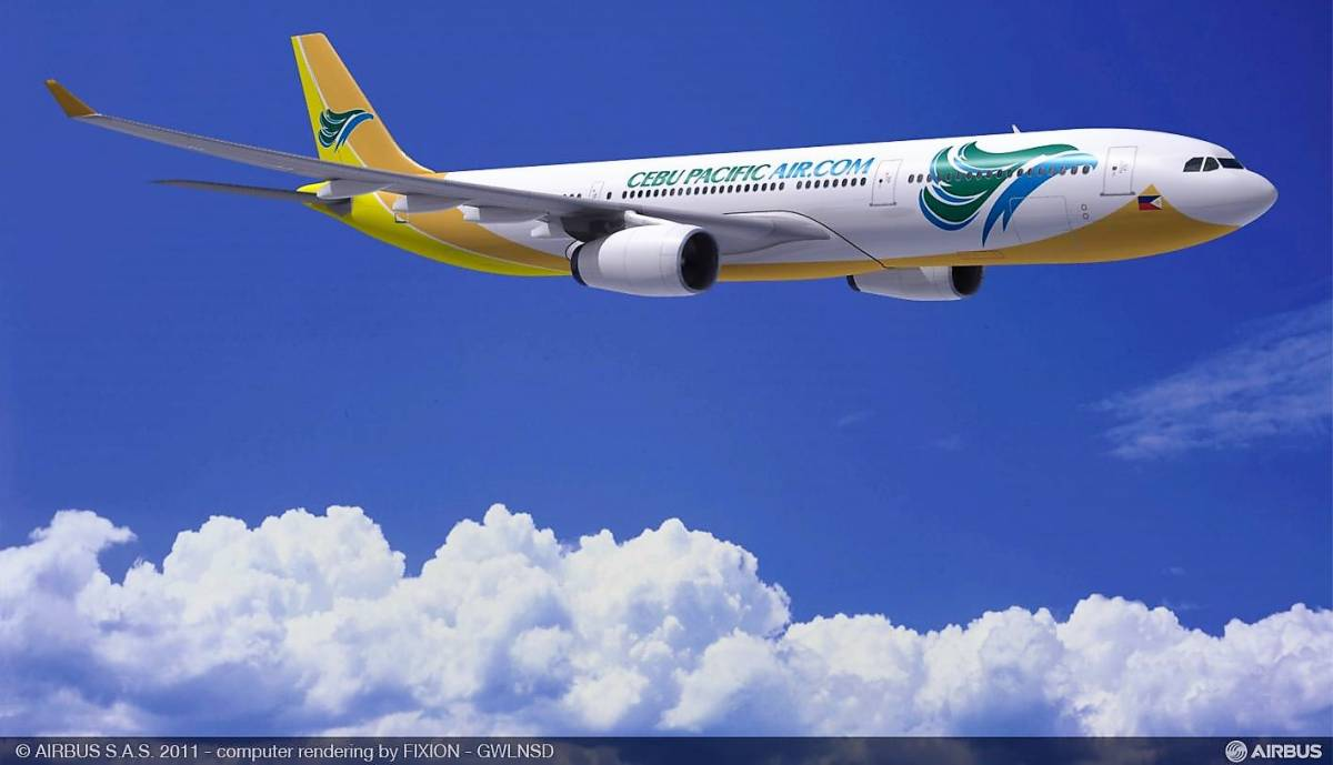 CEBU PACIFIC FLIGHTS AFFECTED BY EARTHQUAKE IN THE PHILIPPINES