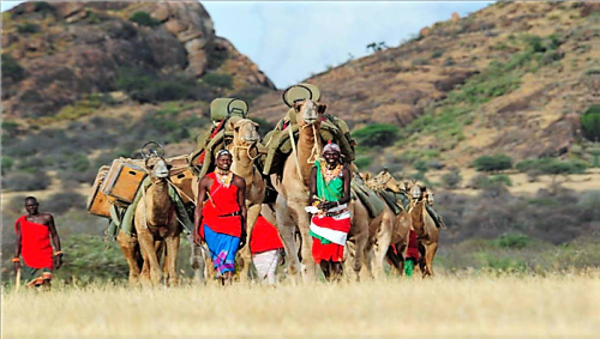 'HER Planet Earth' Team Embarks on Unchartered Terrain Across Northern Kenya's 'Biological Bonanza' for Conservation International