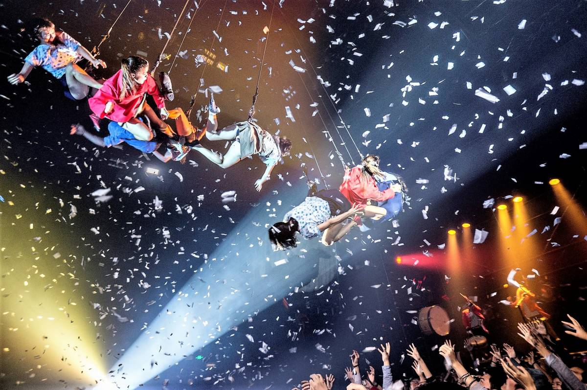 GLOBALLY ACCLAIMED ARGENTINEAN TROUPE FUERZA BRUTA TO HEADLINE SINGAPORE NIGHT FESTIVAL 2019