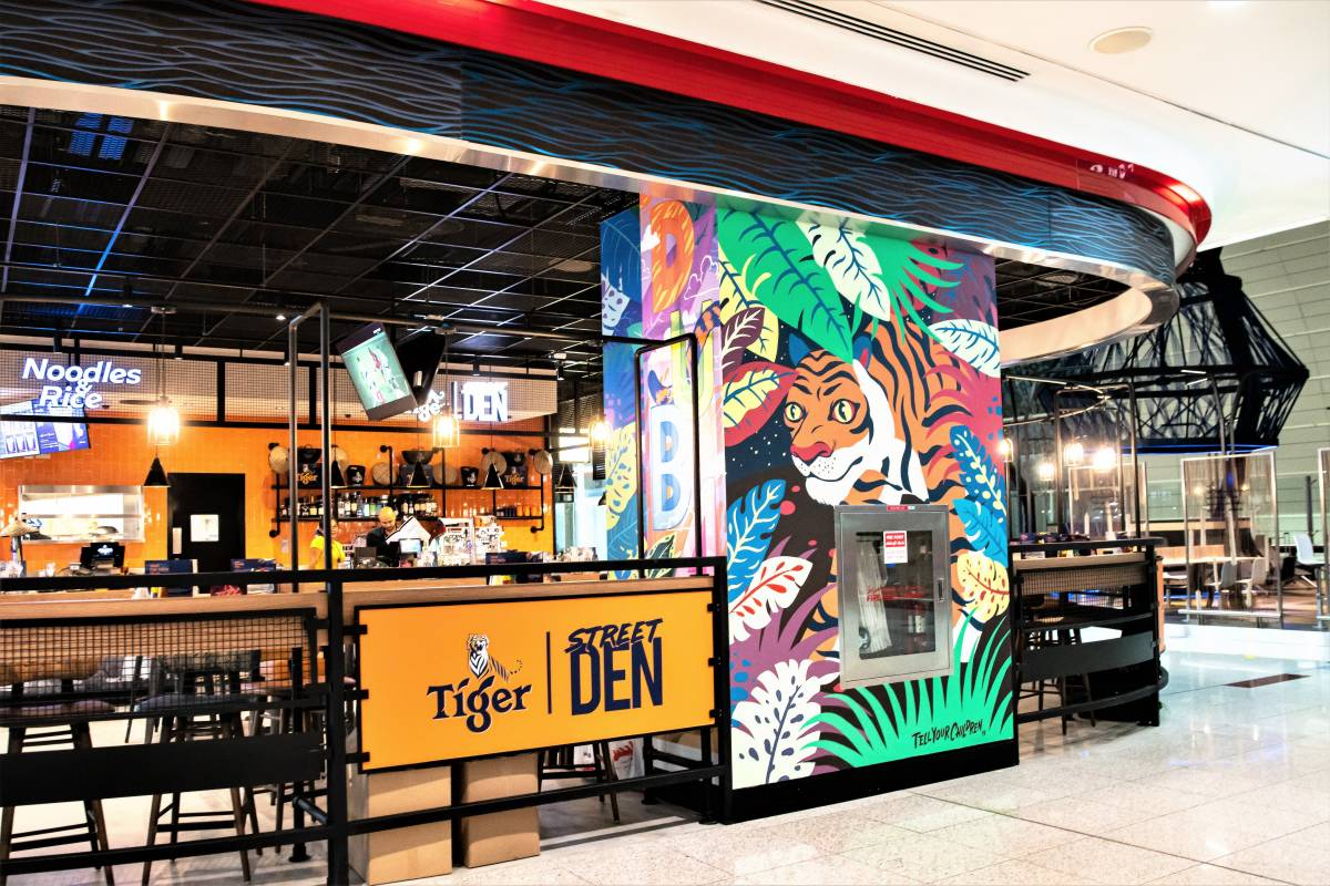 TIGER BEER OPENS SECOND EXPERIENTIAL CONCEPT STORE, TIGER STREET DEN IN DUBAI