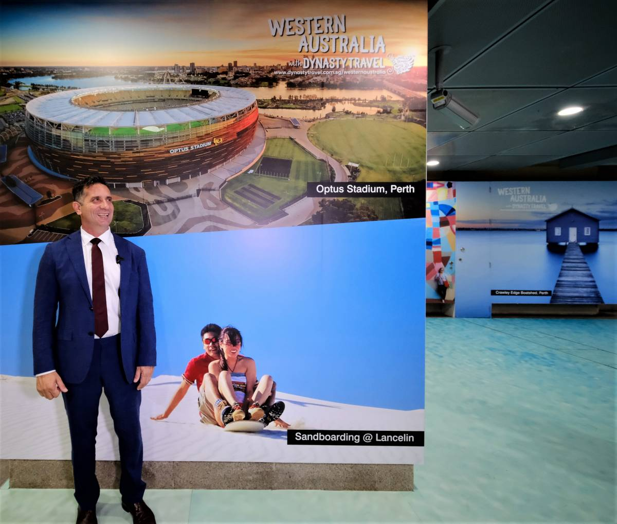 WESTERN AUSTRALIA LAUNCHES NEW TOURISM CAMPAIGN THAT IS BIGGEST IN STATE'S HISTORY