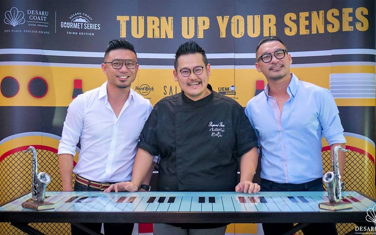DESARU COAST TURNED UP ITS SENSES WITH A TUNEFUL TWIST During the 3rd installation of the Gourmet Series