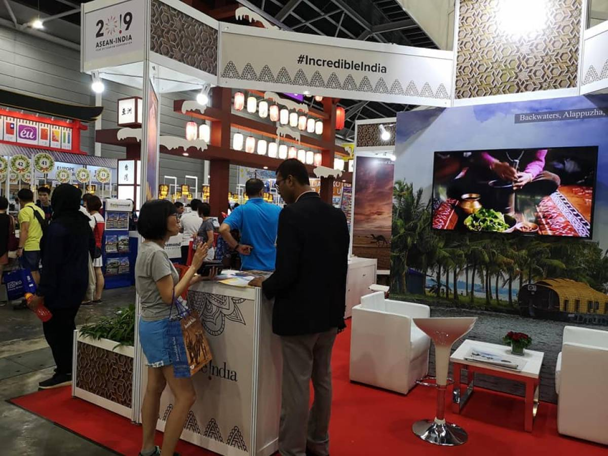 India Tourism at NATAS Engage local Travellers