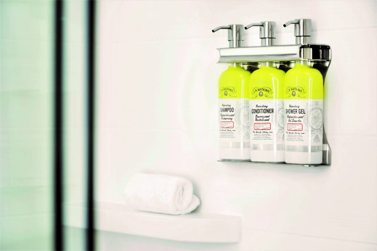 End of the Road for Bathroom Miniatures as IHG Opts for Bulk-Size Amenities to Reduce Plastic Waste