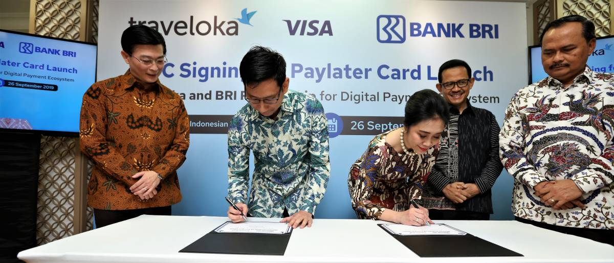 Bank BRI and Traveloka Collaborate to Launch PayLater Card