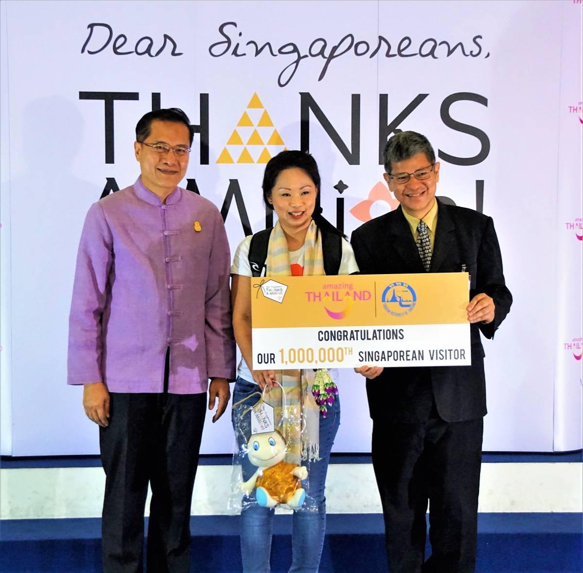 Governor, Mr Yuthasak SupasornVisits ITB Asia