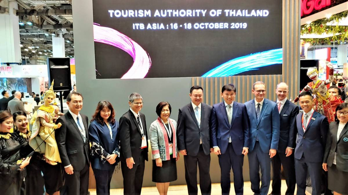 Governor, Mr Yuthasak Supasorn Visits ITB Asia