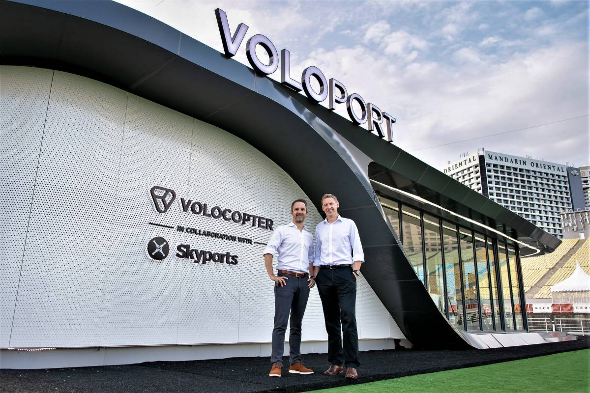 WORLD'S FIRST FULL-SCALE AIR TAXI VOLOPORT UNVEILED IN SINGAPORE