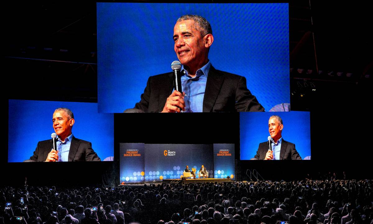 US President Barack Obama in Singapore