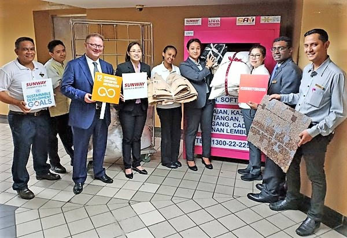 Sunway Hotels & Resorts Bins It with Kloth Cares