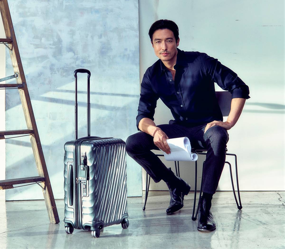 TUMI TAPS ACTOR DANIEL HENNEY FOR GLOBAL FILM SERIES