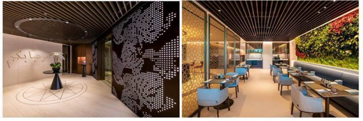 Qatar Airways Officially Launches Its New Premium Lounge At Singapore Changi Airport