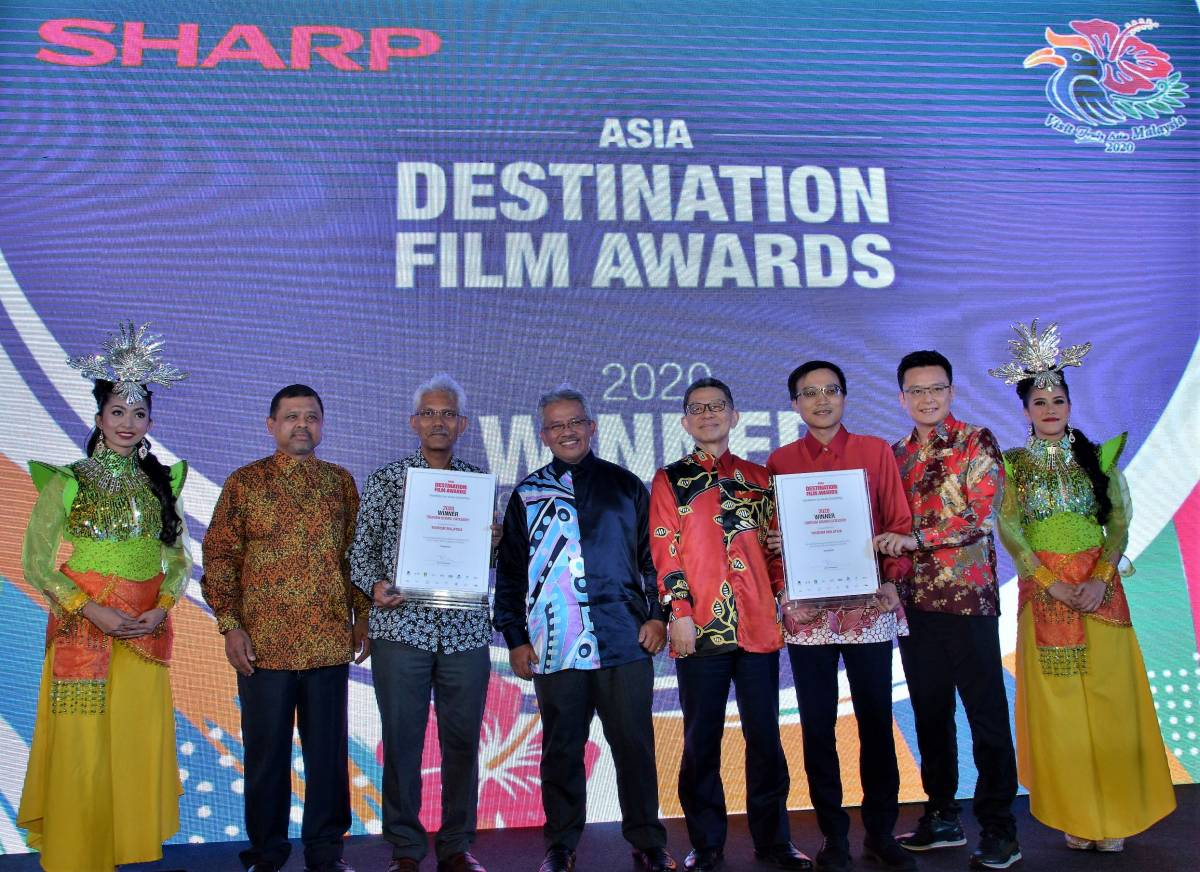 SHARP SUPPORTS TOURISM MALAYSIA IN CHARMING THE WORLD WITH AWARD WINNING 'TRULY AQUOS 8K, TRULY ASIA MALAYSIA' VIDEOS