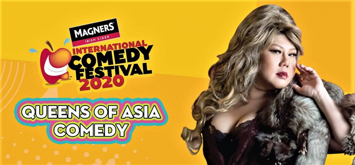 The First Ever Queens of Asia Comedy Special: Live in SINGAPORE This March!