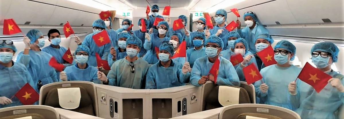 Vietnam Airlines Provides Free Flight Tickets and Freight for Doctors, Nurses, and Medical Experts to Combat COVID-19