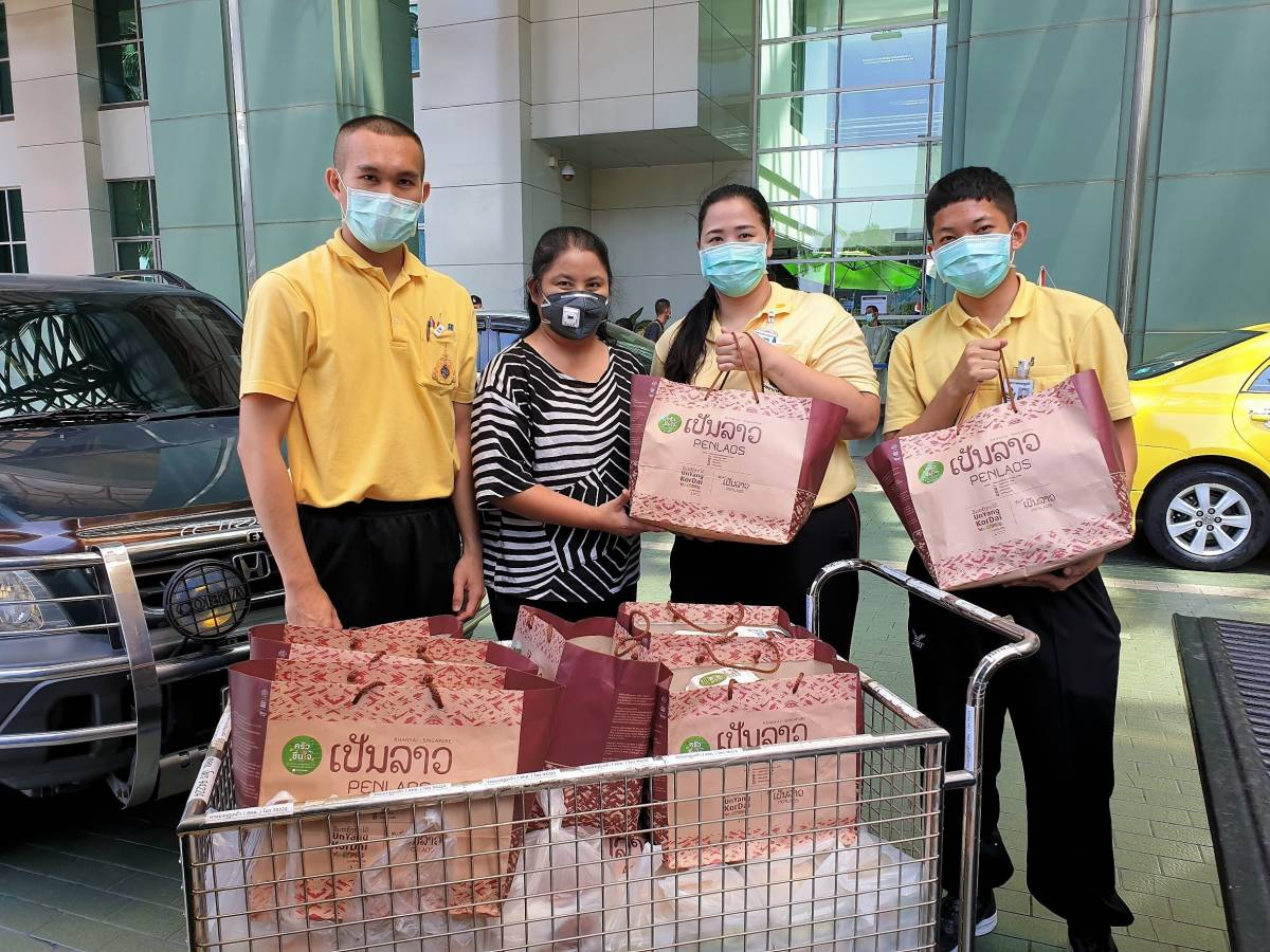 Food for Fighters – Thailand Restaurants Contribute Food for Medical Staff