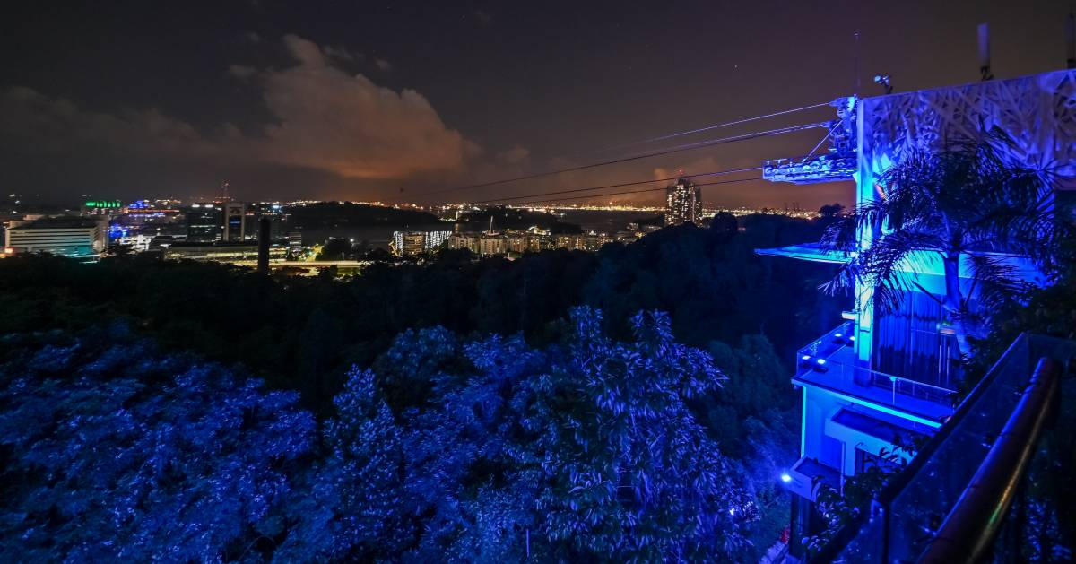 Singapore Joins the Global Campaign #MakeItBlue to Raise Awareness of Mental Health Issues