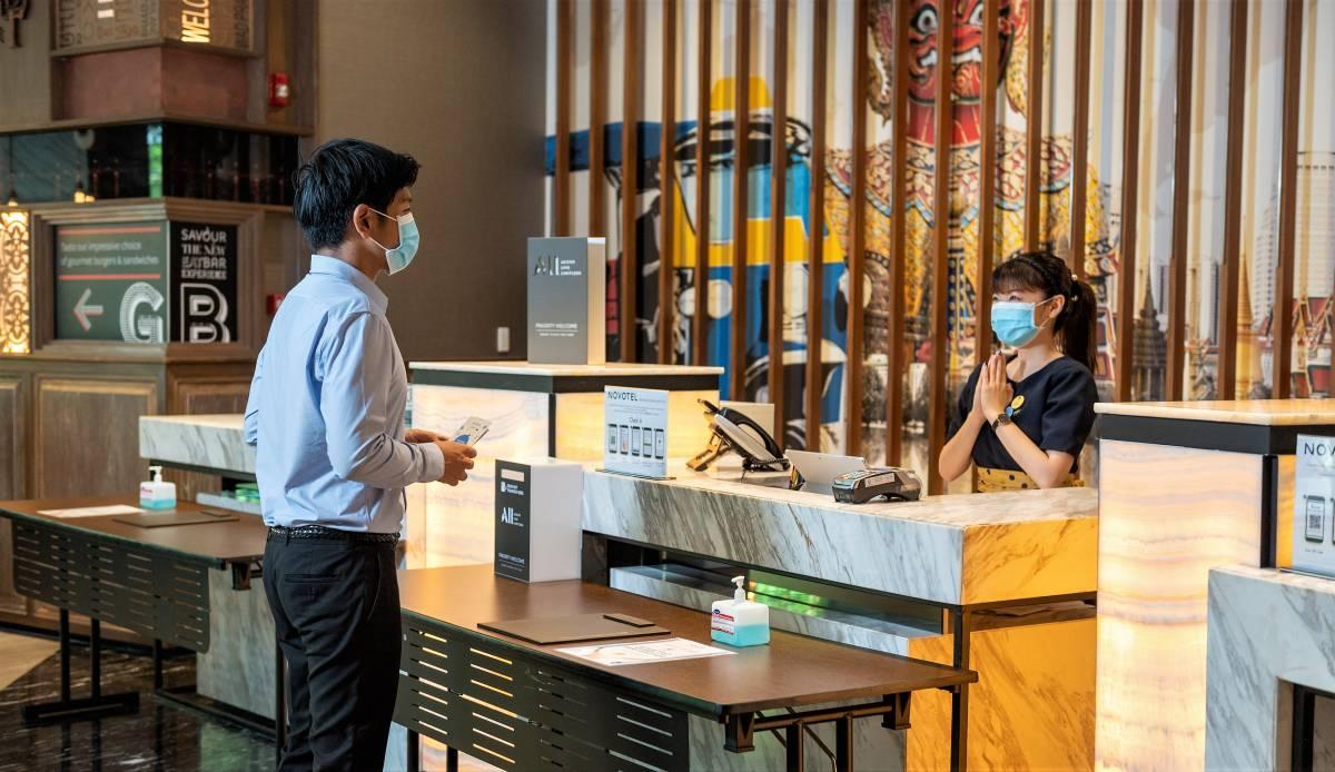 Novotel Bangkok Sukhumvit 20 achieves hygiene certification by EHC and ALLSAFE label