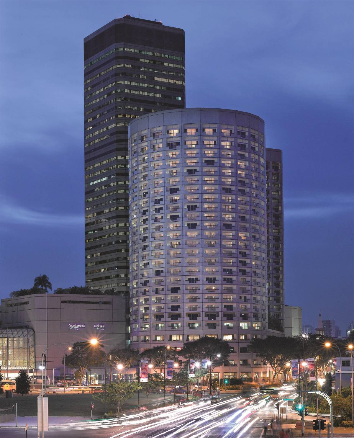 Winner of a Staycation at Fairmont Singapore