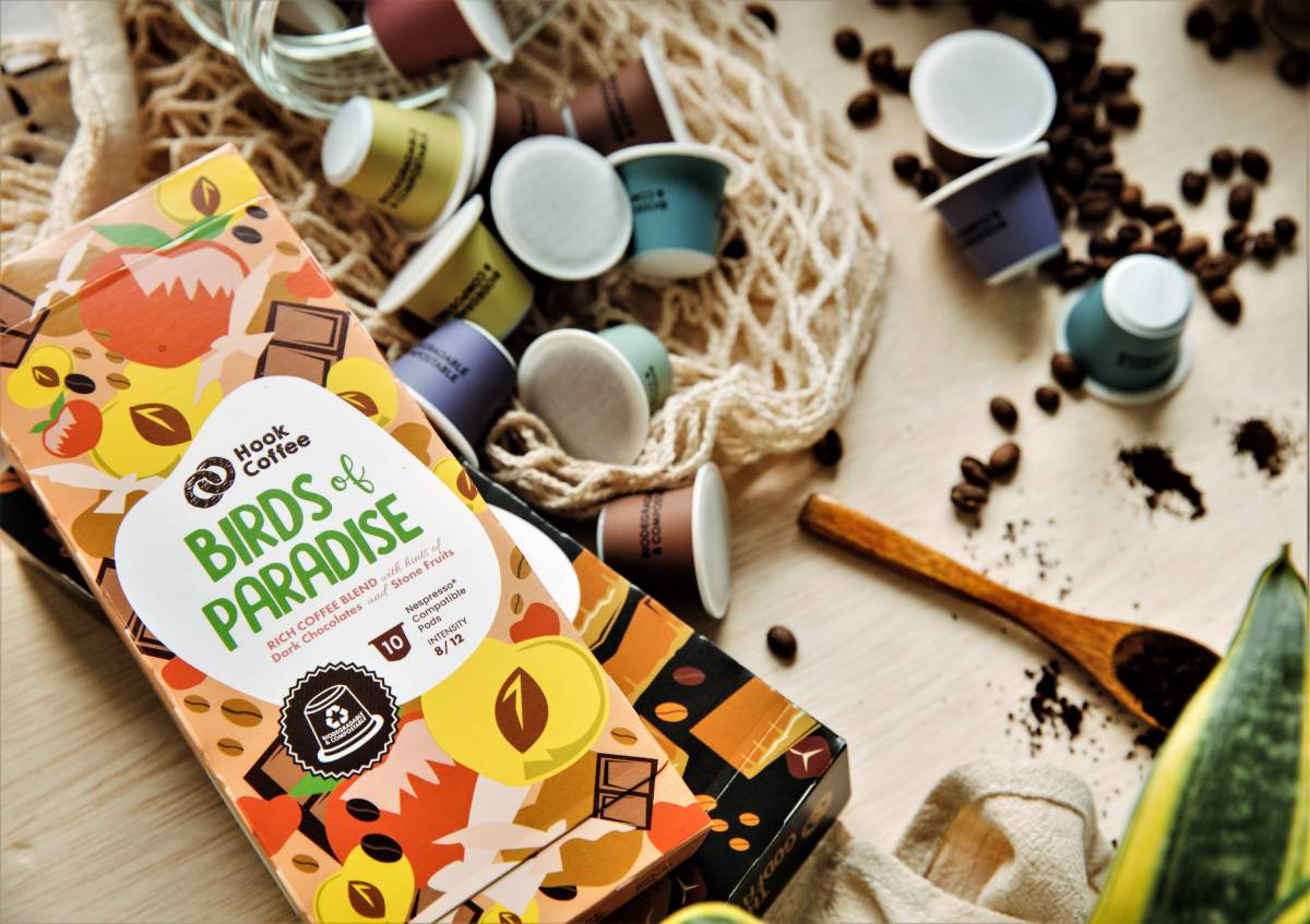 Hook Coffee, a Homegrown Artisanal Coffee Company launches its Best Sellers in Biodegradable Pods