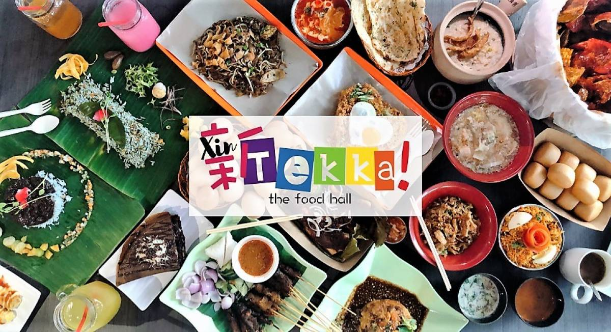 Xin Tekka, the Largest Gourmet Food Hall in Tekka Showcases Local Hawker Legends, Rediscovered Restaurateurs, and New-Generation Food Entrepreneurs
