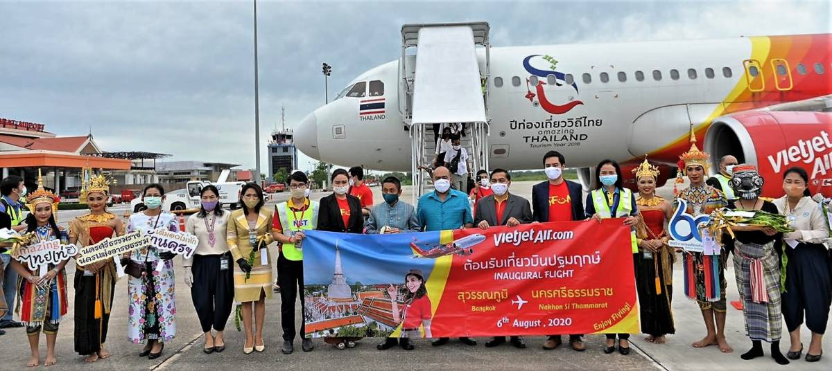 Thai Vietjet Commences 10th Domestic Service in Thailand