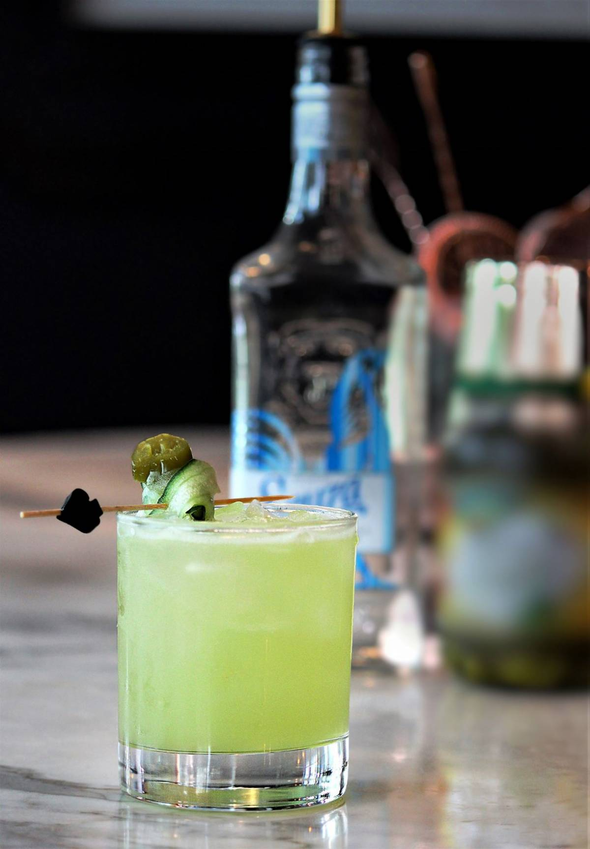 SHAKING THINGS UP WITH NEW COCKTAILS AT GINETT