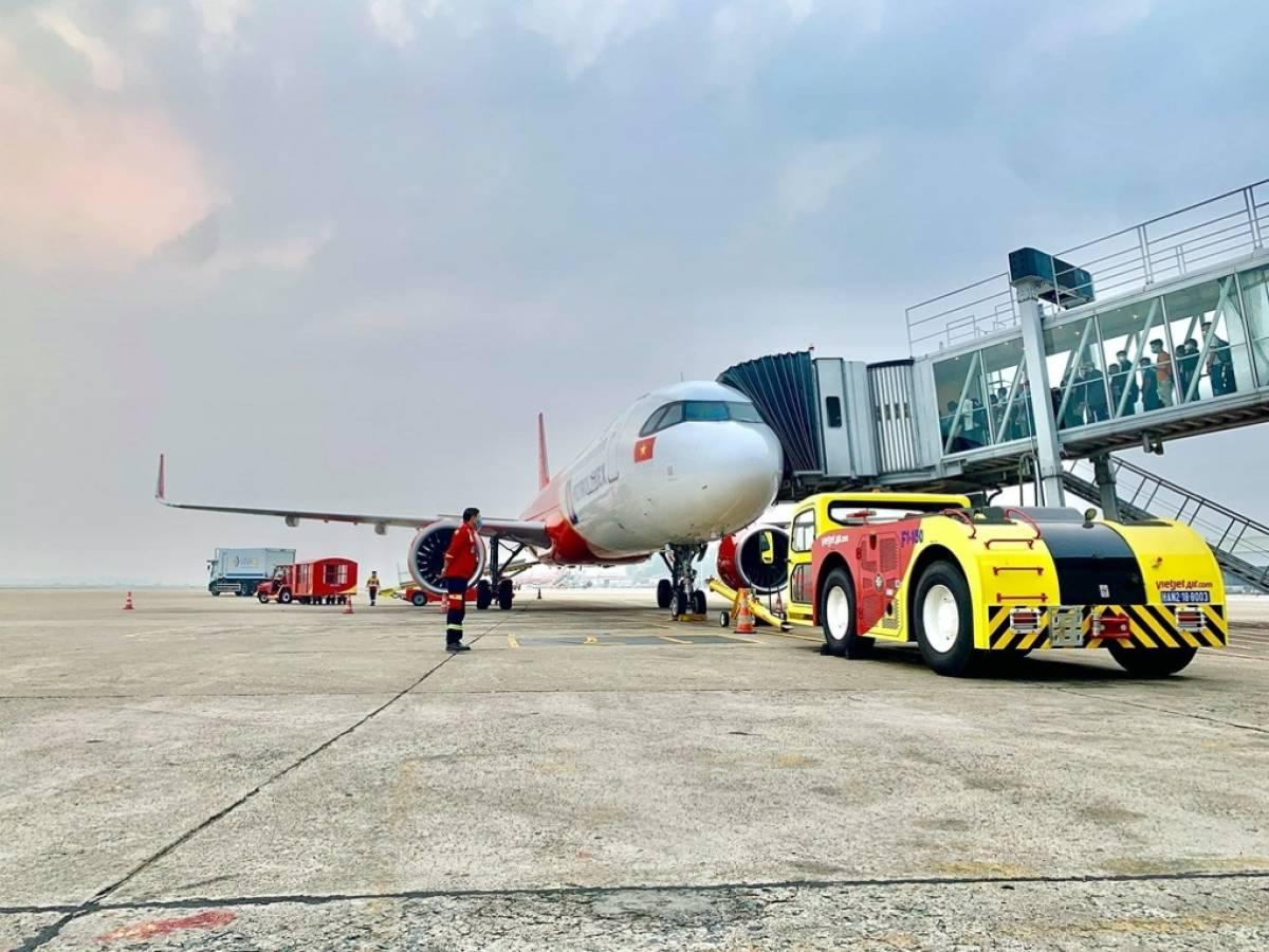 Vietjet Kicks Off Self-Handling Ground Operations Amidst the Pandemic
