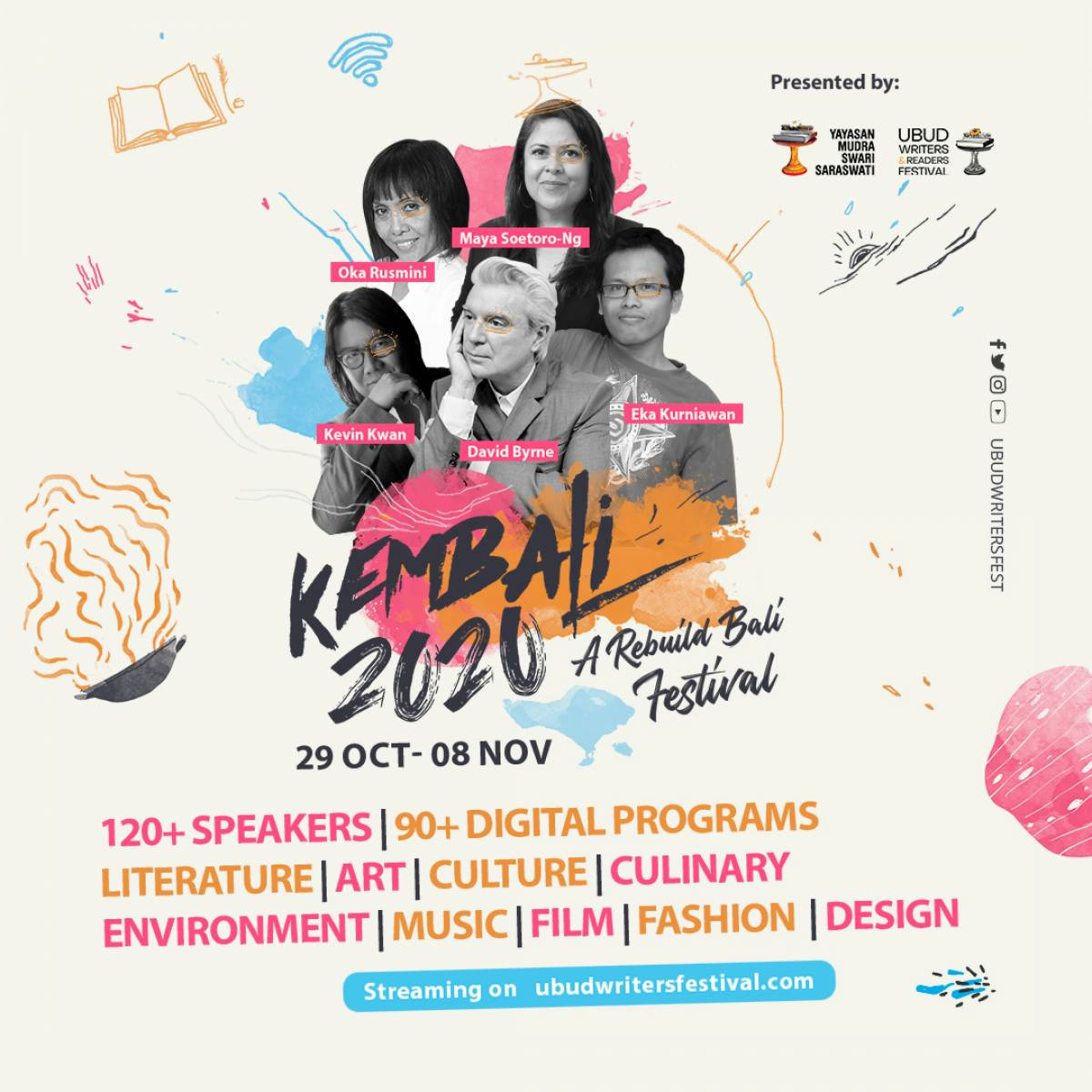 Kembali 2020 - A Digital Arts Festival to Rebuild Bali's Creative Community
