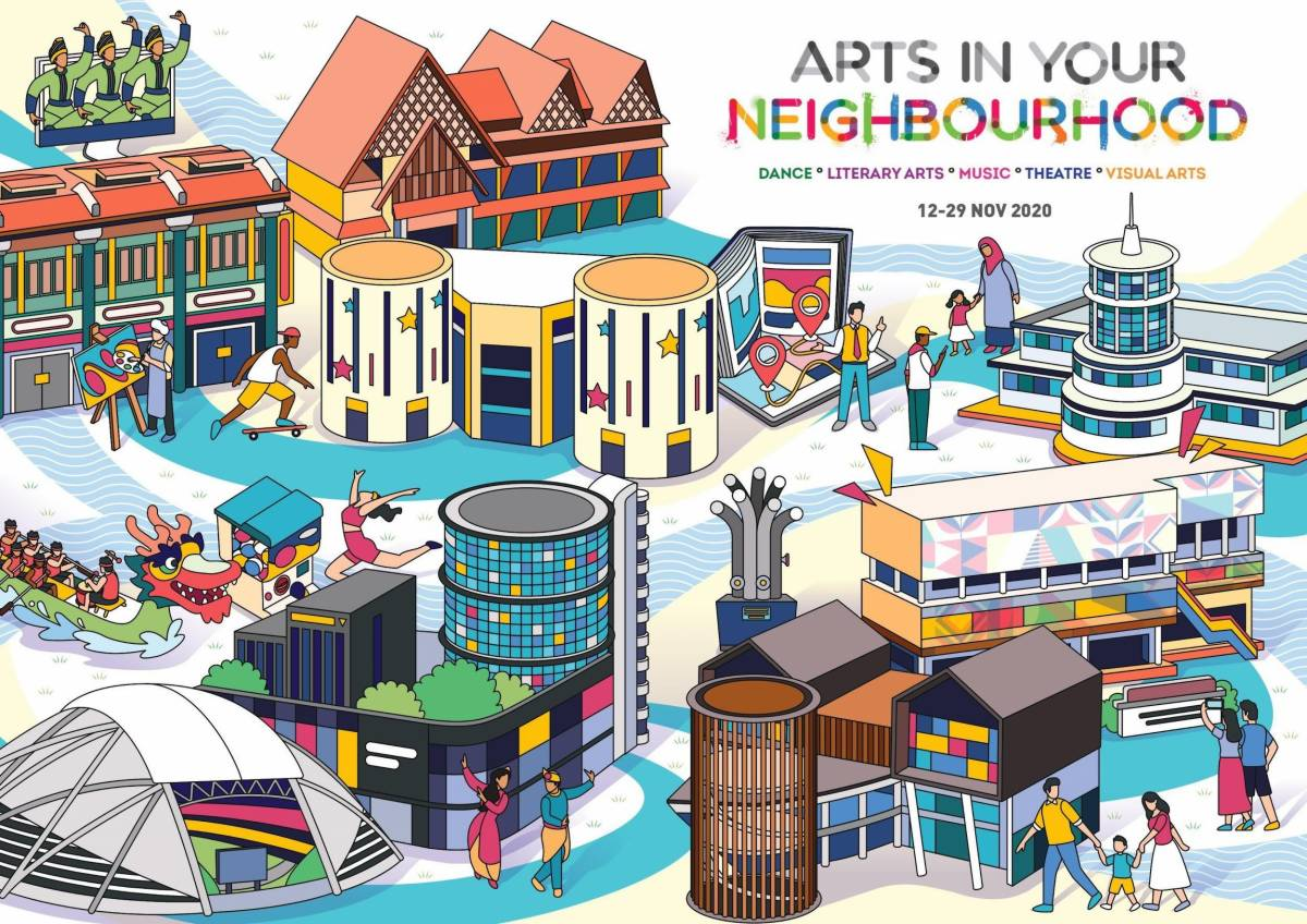 Arts in Your Neighbourhood goes to Kallang and Geylang this November