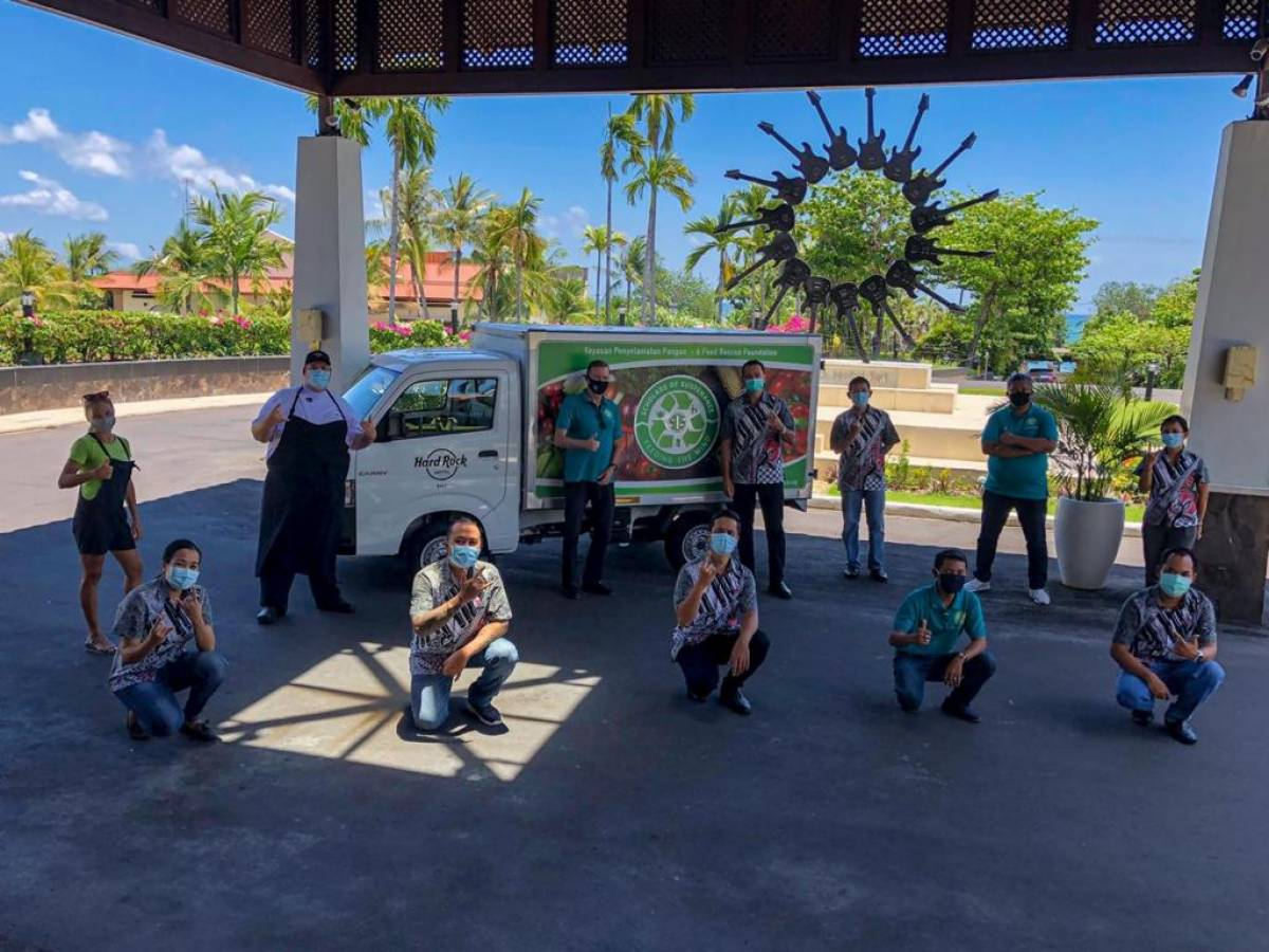 Hard Rock Hotel Bali Donates a New Vehicle to Scholars Of Sustenance Bali