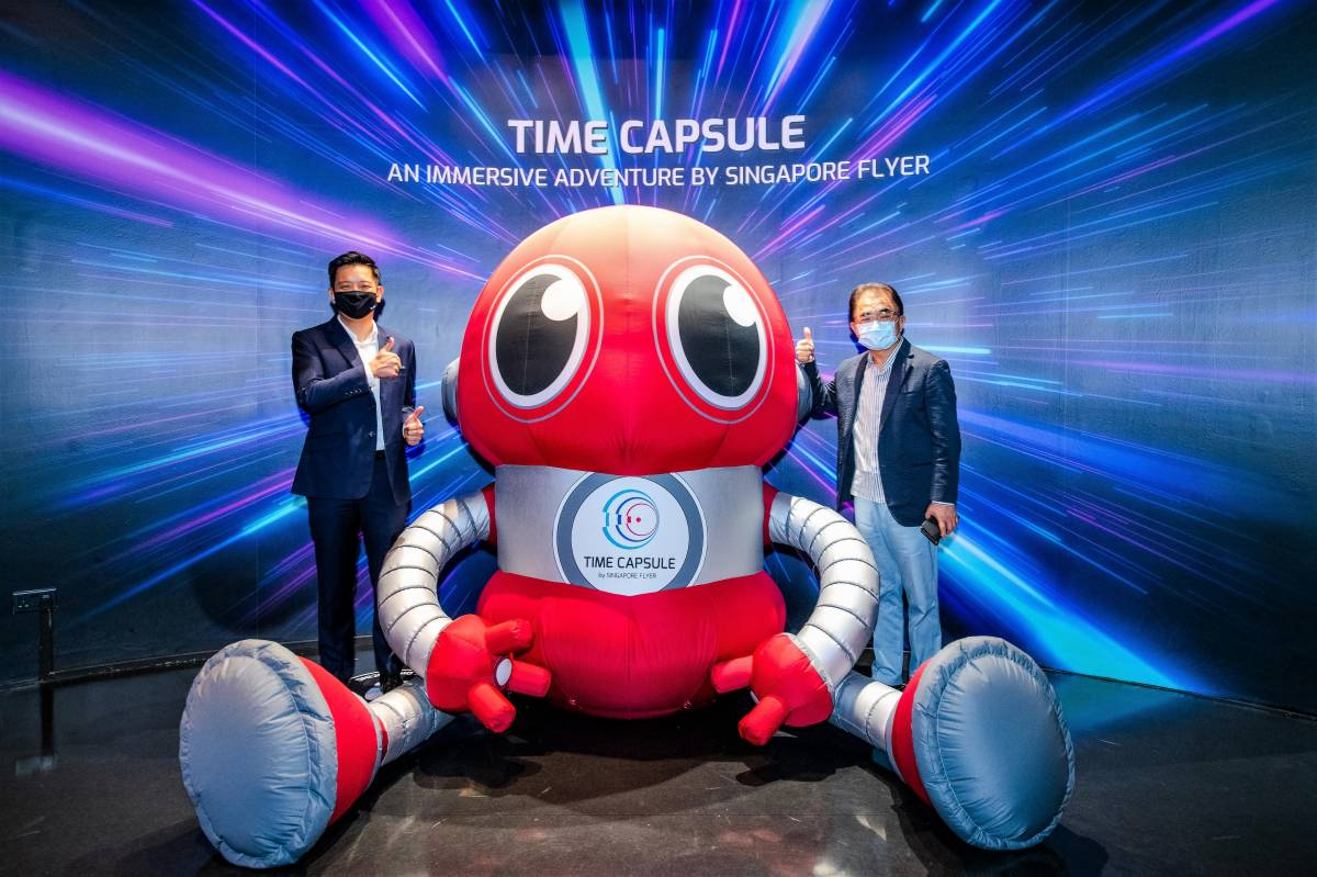 SINGAPORE FLYER GEARS UP FOR LAUNCH OF TIME CAPSULE