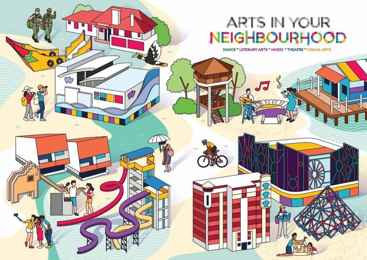 Arts in Your Neighbourhood is back and heading to Pasir Ris!