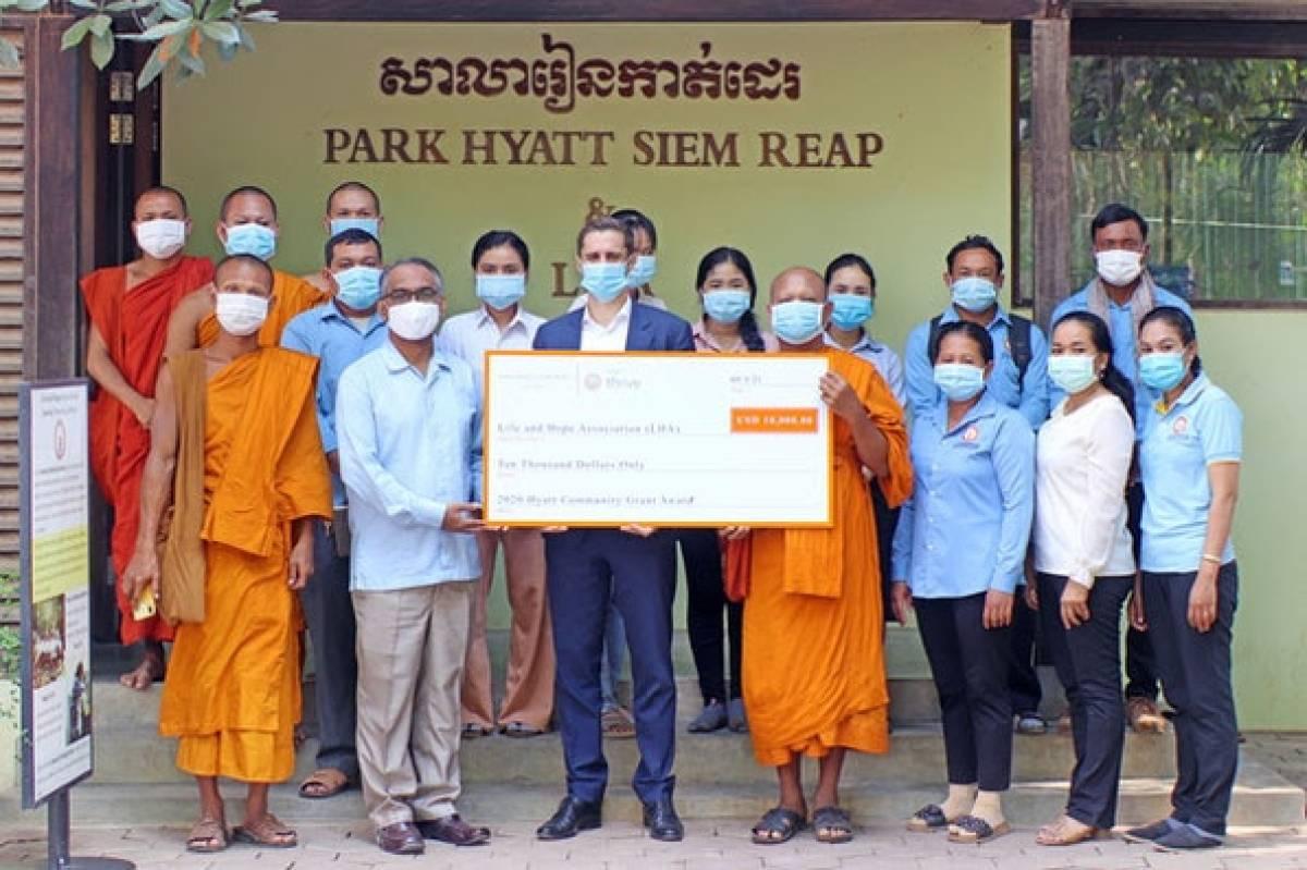 Park Hyatt Siem Reap & Lha Sewing School Re-Opens With 2020 Hyatt Community Grant