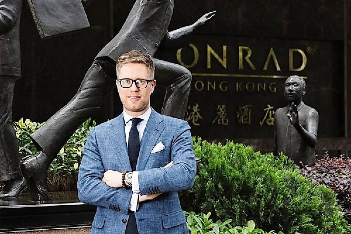 Jan Jansen Appointed General Manager at Conrad Hong Kong